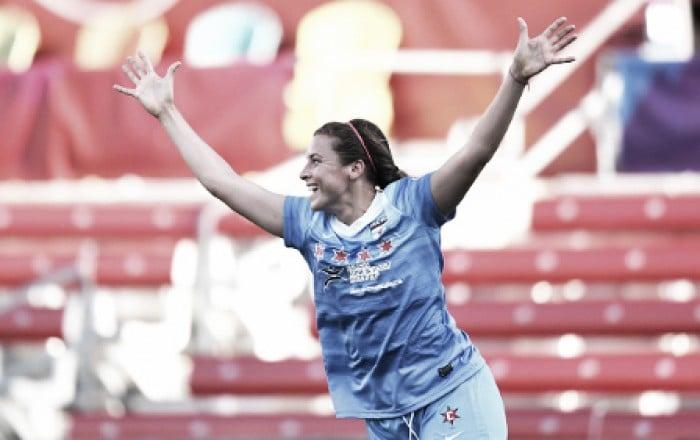 Red Stars shine against North Carolina Courage