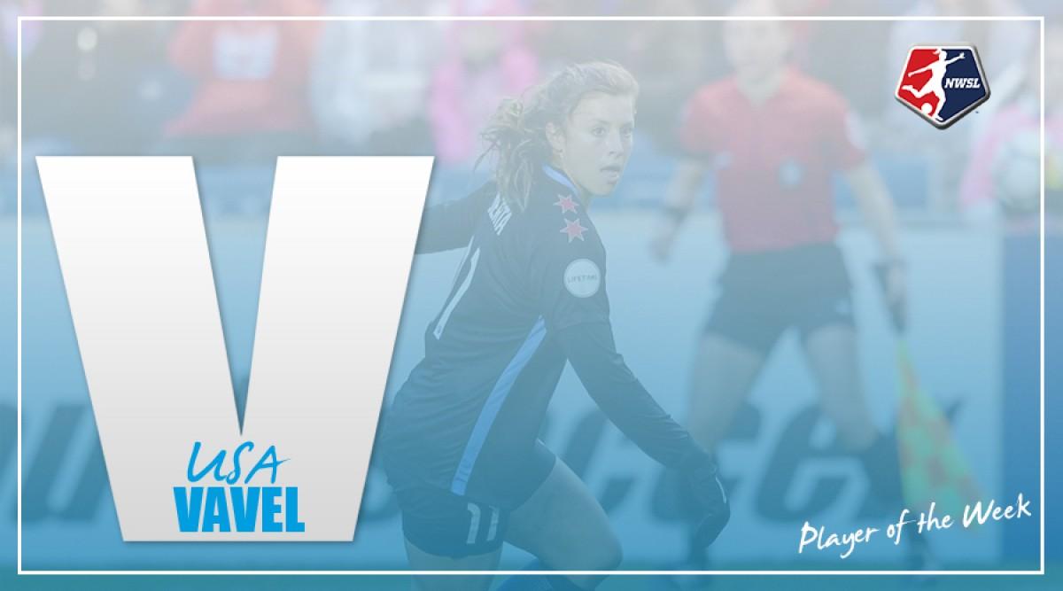 Sofia Huerta named NWSL Player of the Week