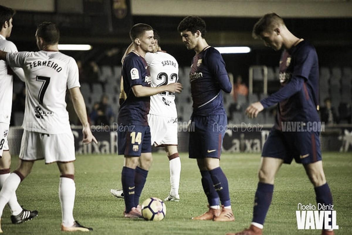 El filial vuelve a naufragar ante el Huesca