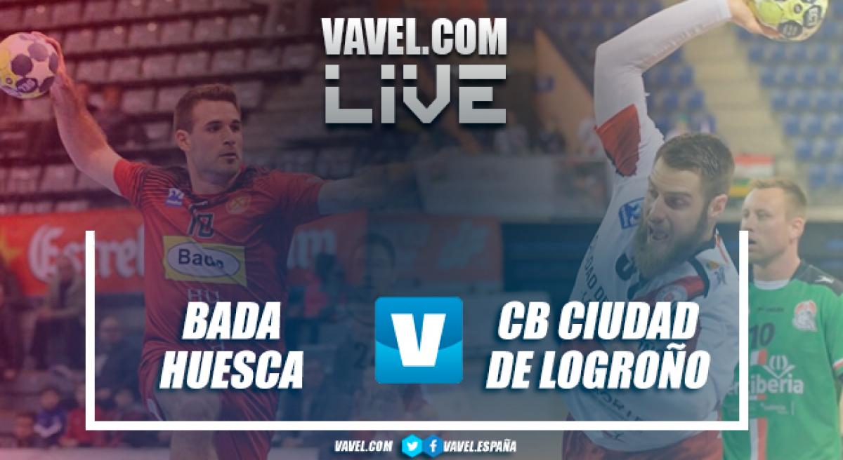 Resumen Bada Huesca vs CB Ciudad de Logroño en Liga Loterías ASOBAL 17/18 (23-25)