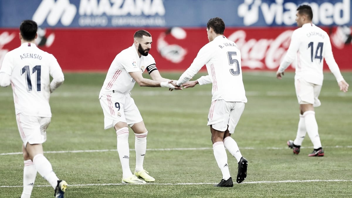 SD Huesca - Real Madrid: puntuaciones del Real Madrid, 22ª jornada de LaLiga Santander