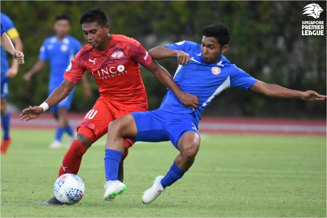 Home scrape past Young Lions 2-1 in gritty affair