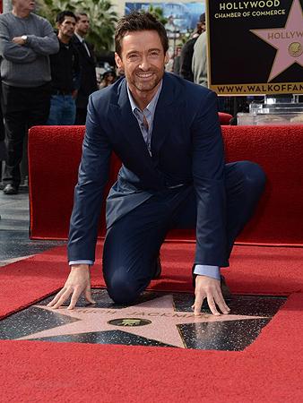 Hugh Jackman ya tiene estrella en el Paseo de la Fama de Hollywood