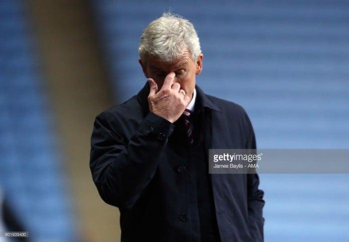 Mark Hughes sacked as Stoke City manager
