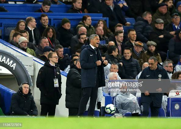 Hughton disgusted by behaviour of Cagliari fans