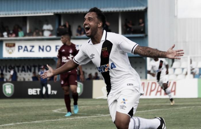 Sem convencer, Vasco vence Juventus-SP em Diadema