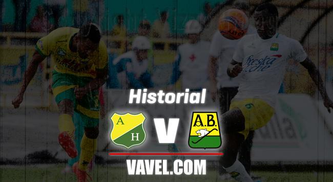 Historial Atlético Huila vs. Atlético Bucaramanga: las estadísticas favorecen a los 'leopardos'