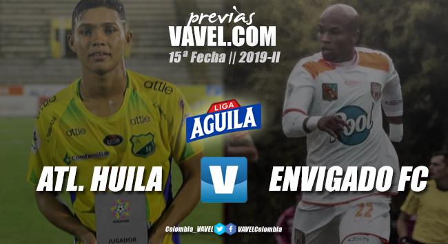 Previa Atlético Huila vs. Envigado: duelo por evitar el descenso