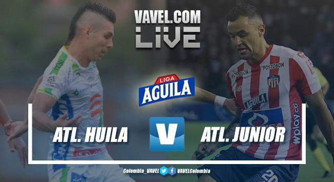 Atlético Huila vs. Atlético Junior en vivo online por la fecha 11 de la Liga Aguila 2019-II