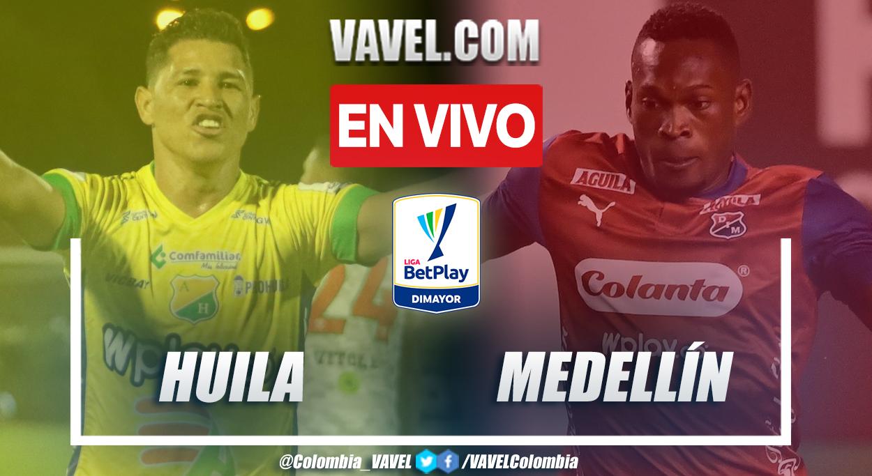 Resumen y goles: Huila 3-1 Medellín en la fecha 7 por Liga BetPlay 2021-II