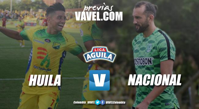 Previa Atlético Huila vs Atlético Nacional: a seguir sumando
