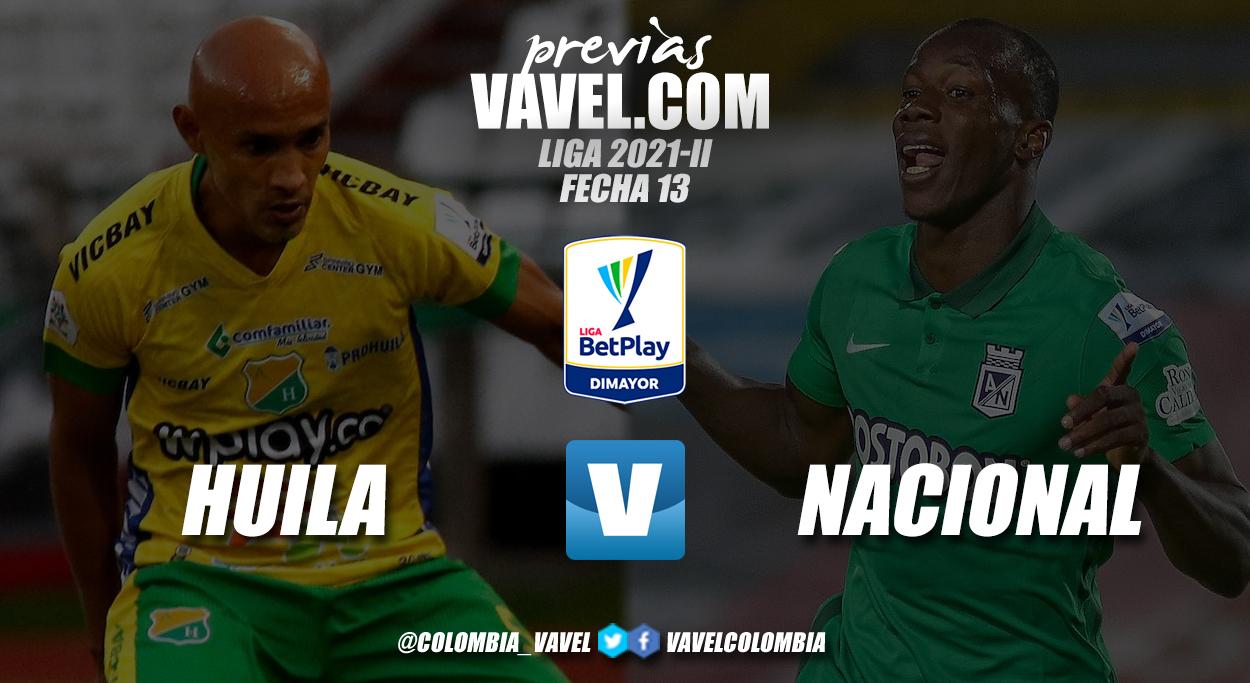 Previa Atlético Huila vs. Atlético Nacional: partido de diferentes contrastes en Neiva
