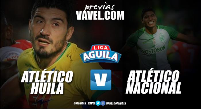 Huila Vs Nacional: Atlético Huila Vs Atlético Nacional: Los 'verdes' Quieren