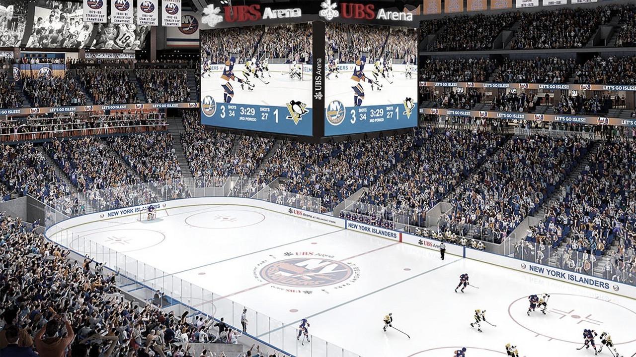 La nueva casa de los Islanders se llamará UBS Arena