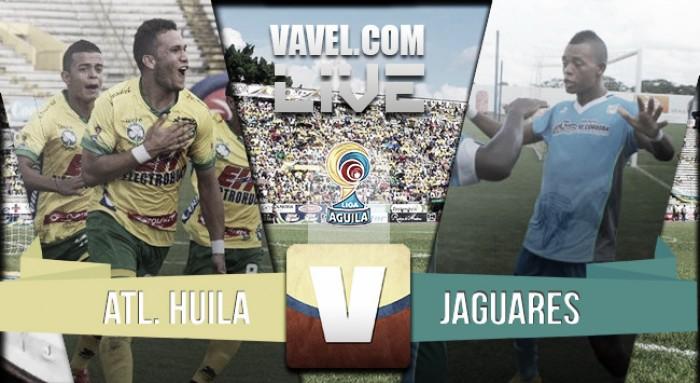 Resultado Atlético Huila - Jaguares FC por la Liga Águila 2016-I (0-1)