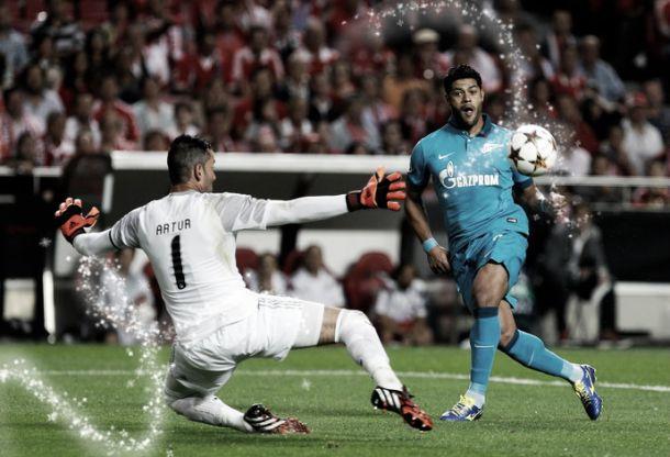 Zenit abate Benfica e apaga a Luz dois anos depois