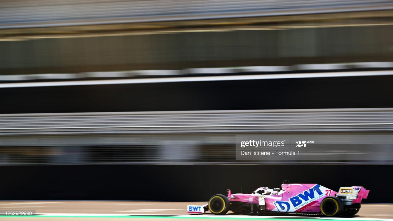 British GP 2020 FP1 - Max Verstappen takes top spot in Silverstone sunshine