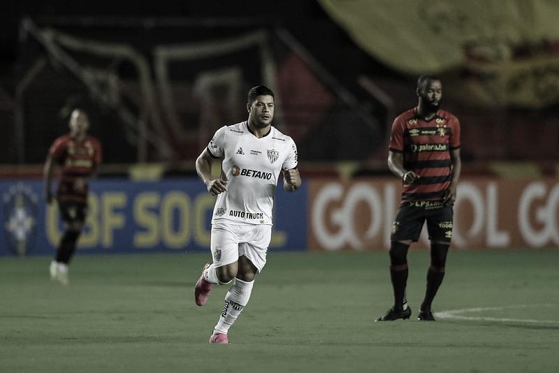 Com Hulk decisivo, Atlético-MG cadencia e vence Sport Recife fora de casa