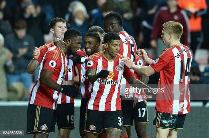 David Moyes hails star men Jordan Pickford and Victor Anichebe after Sunderland's first home win