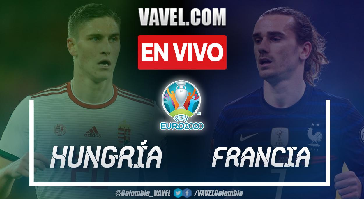 Resumen Hungría vs Francia (1-1) en el Grupo F de la UEFA Euro 2020