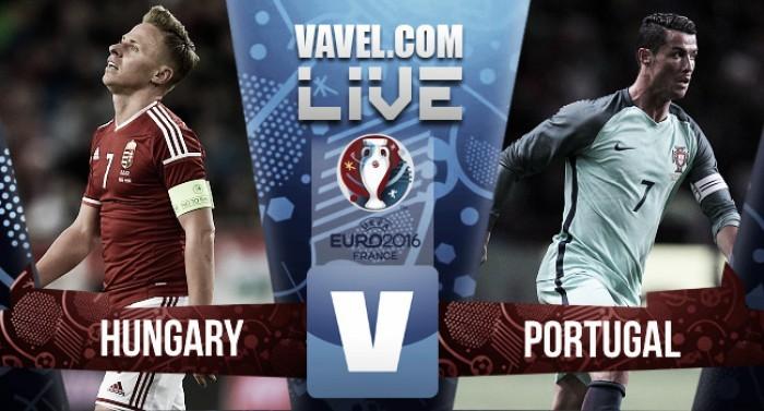 Risultato Ungheria - Portogallo, Euro 2016 (3-3)