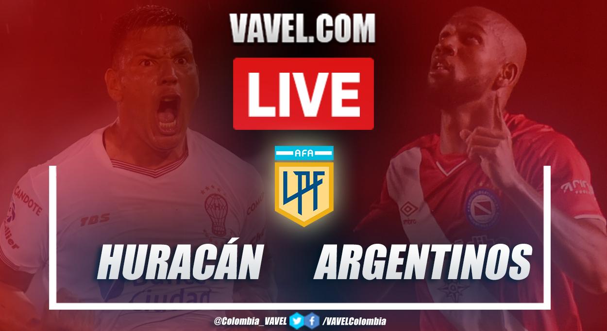 Resumen y goles: Huracán (0-1) Argentinos en la jornada 4 por Copa Diego Armando Maradona