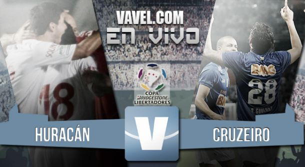 Resultado Huracán - Cruzeiro por la Copa Libertadores 2015 (3-1)