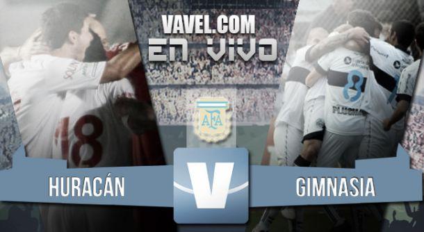 Resultado Huracán - Gimnasia y Esgrima La Plata (1-1)