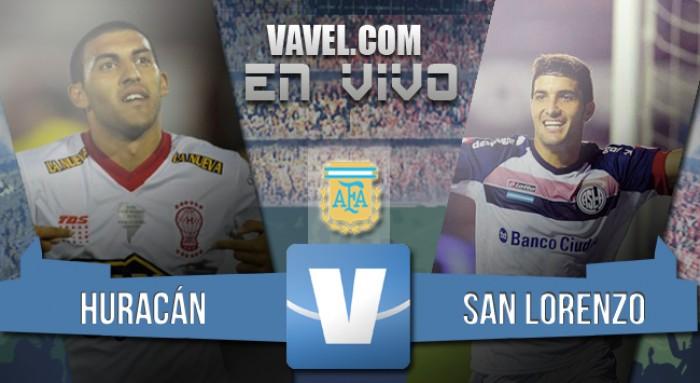 Resultado de Huracán y San Lorenzo por el Torneo Transición 2016 (1-1)