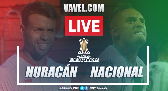 Resumen y goles Huracán 1-1 Atlético Nacional en Copa Sudamericana 2020