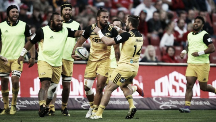 Super Rugby round 10 review: Hurricanes lay down marker with Johannesburg half-century