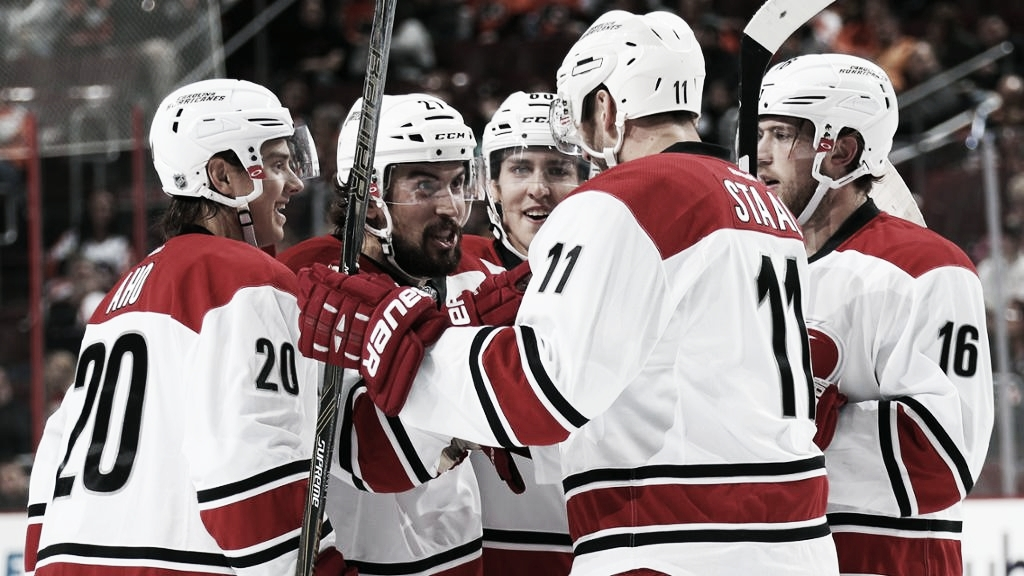 Los Carolina Hurricanes superan la sequía