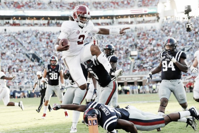 Alabama retain top spot in Week 4 AP Poll, while Louisville rise to #3 after annihilation of Florida State