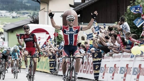 Hushovd vence en la tercera etapa de la Vuelta a Polonia