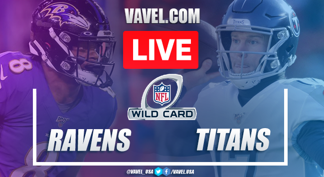 Touchdowns and Highlights Baltimore Ravens 20-13 Tennessee Titans on Wildcard NFL 2021