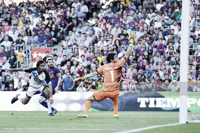 Barcelona - Deportivo: puntuaciones del Dépor en la jornada 8 de La Liga