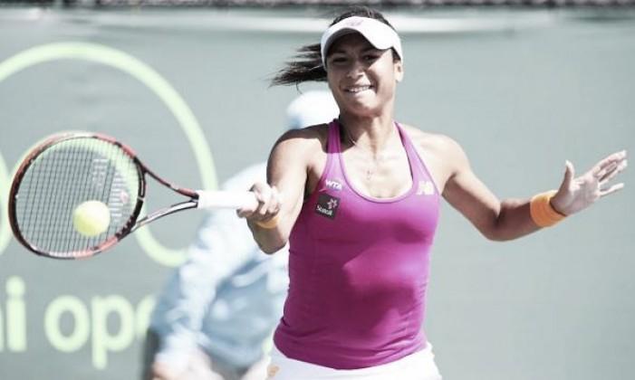 Miami Open WTA: Watson advances into second round