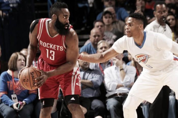 NBA playoffs, Rockets vs Thunder: non solo Harden contro Westbrook