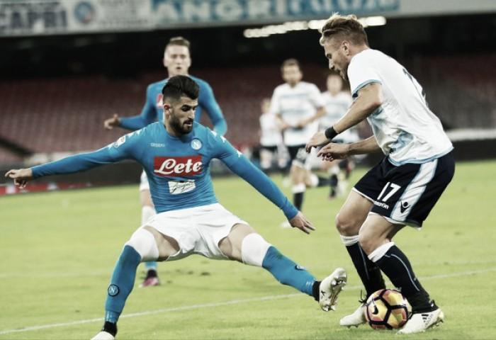 Napoli e Lazio não saem do empate e estacionam na tabela do Campeonato Italiano