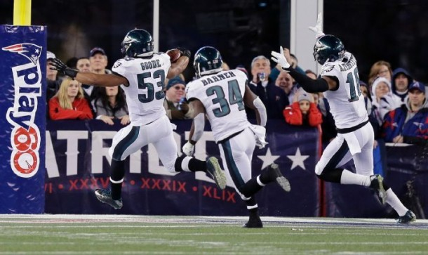 Philadelphia Eagles Stave Off Comeback From New England Patriots For Shocking 35-28 Upset Victory