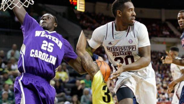Mississippi State Men's Basketball Survives Scare From Western Carolina