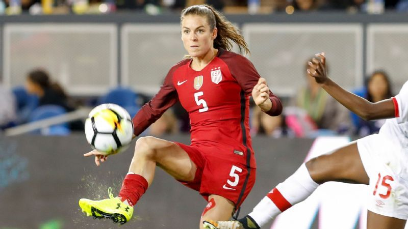 Kelley O'Hara set to have surgery, will be out of action for 8-12 weeks