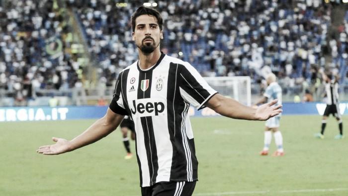 "Juventus, sollievo Khedira: ""Niente di grave"""