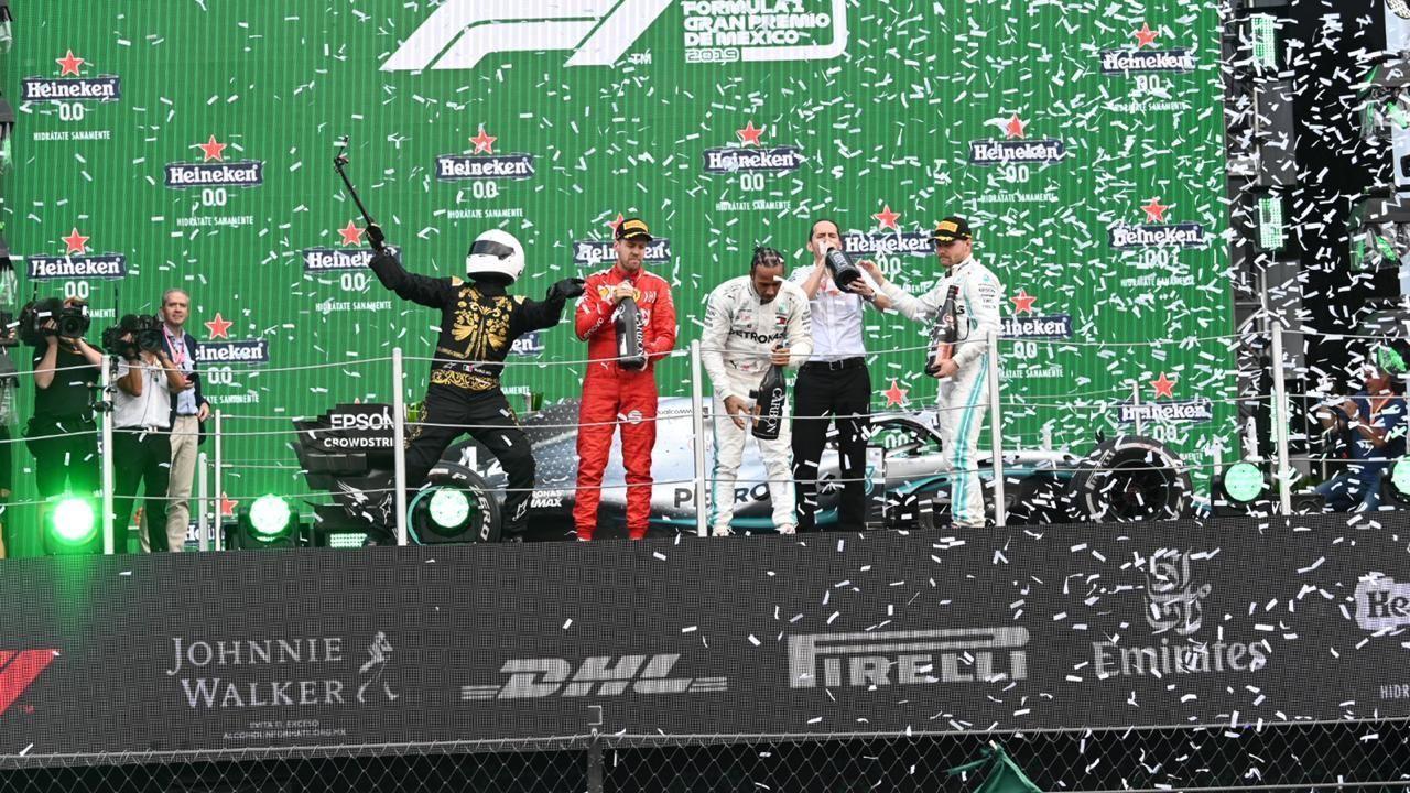 No habrá festejo en el podio para la F1