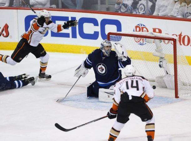 Anaheim Ducks Complete Sweep of Winnipeg Jets