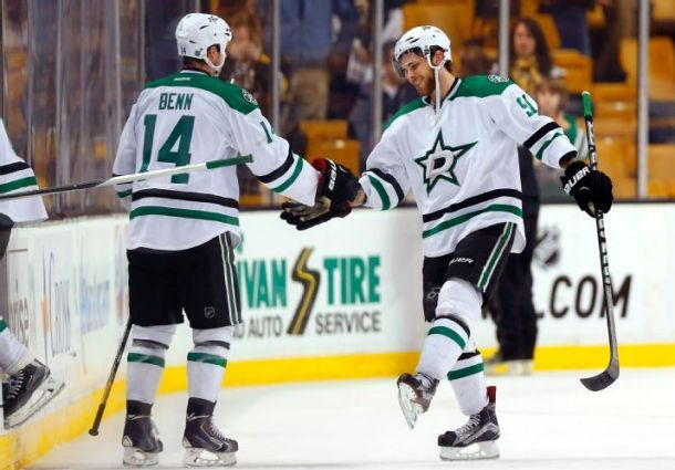 Stars Net Two Shorthanded Goals In Win Over Bruins