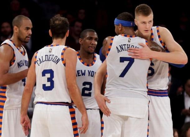 Score New York Knicks 93-90 Oklahoma City Thunder in NBA Basketball