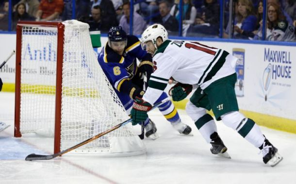 Minnesota Wild Take Game 1 In St. Louis Over The Blues