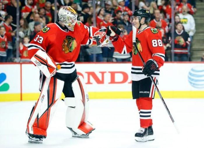 Patrick Kane's Hat Trick Leads Chicago Blackhawks To 6-4 Win Over Boston Bruins