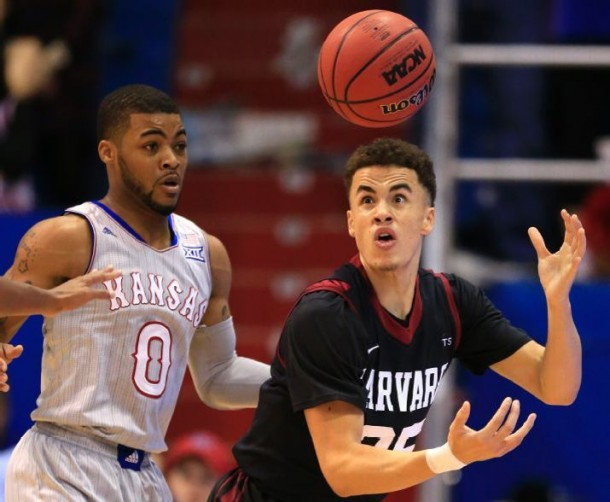 No. 4 Kansas Jayhawks Escape From Feisty Harvard Crimson With 75-69 Win